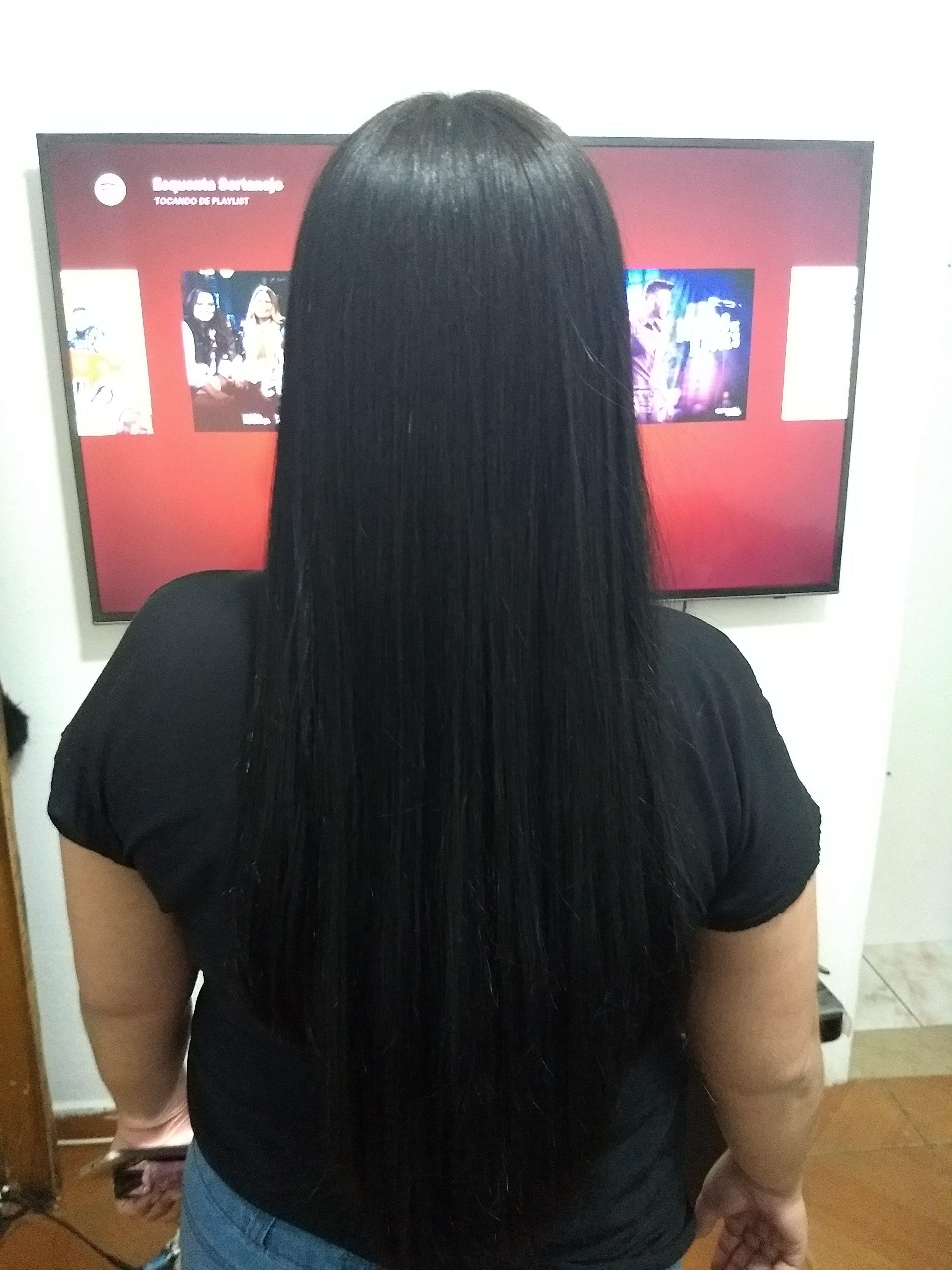 Progressiva 😍 cabelo auxiliar cabeleireiro(a) escovista