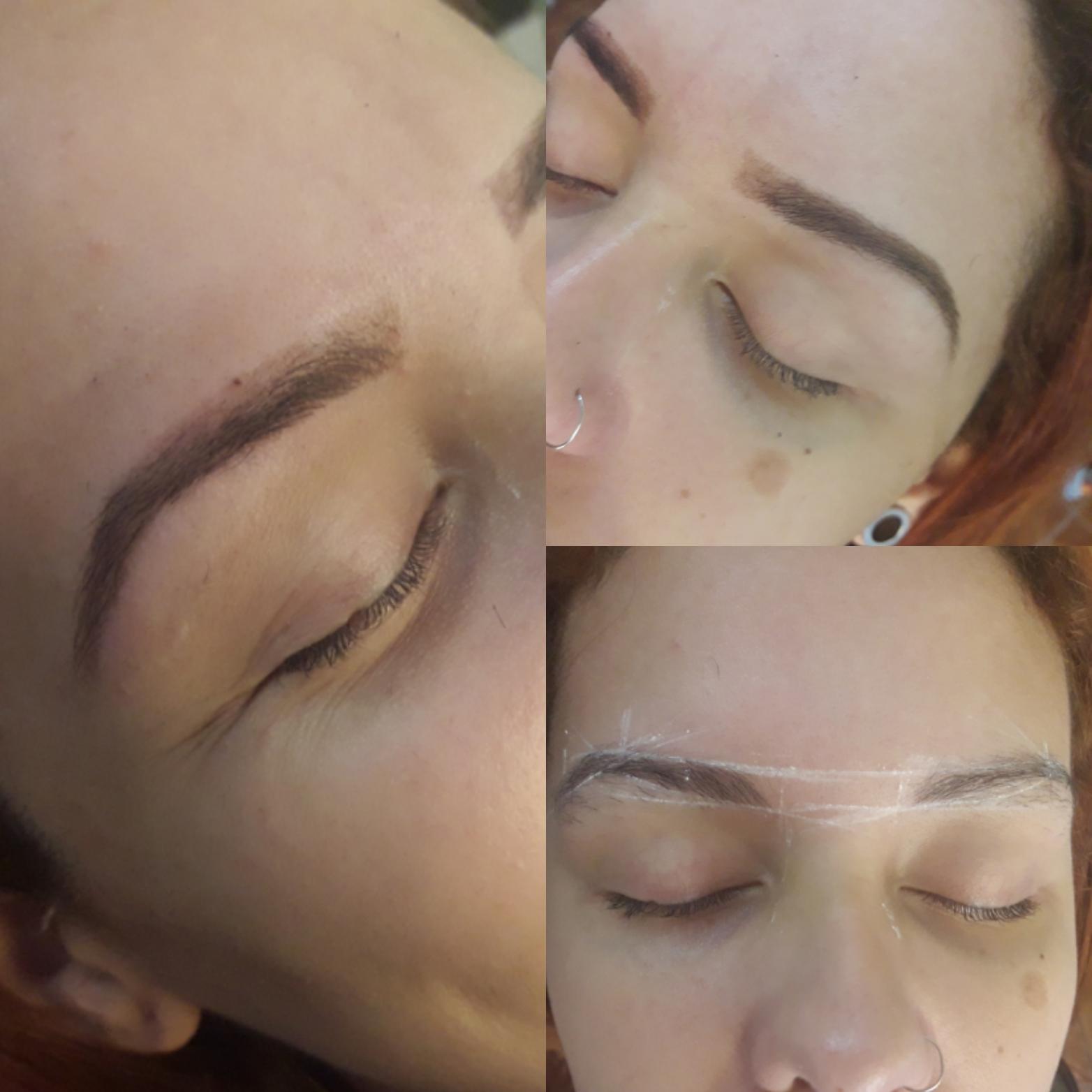 designer de sobrancelhas recepcionista