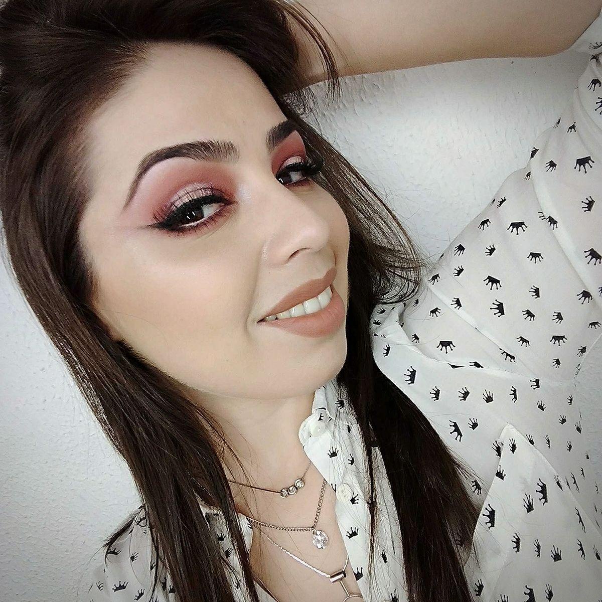 Pálpebra Luz Rosa e Marsala maquiagem maquiador(a) consultor(a) designer de sobrancelhas