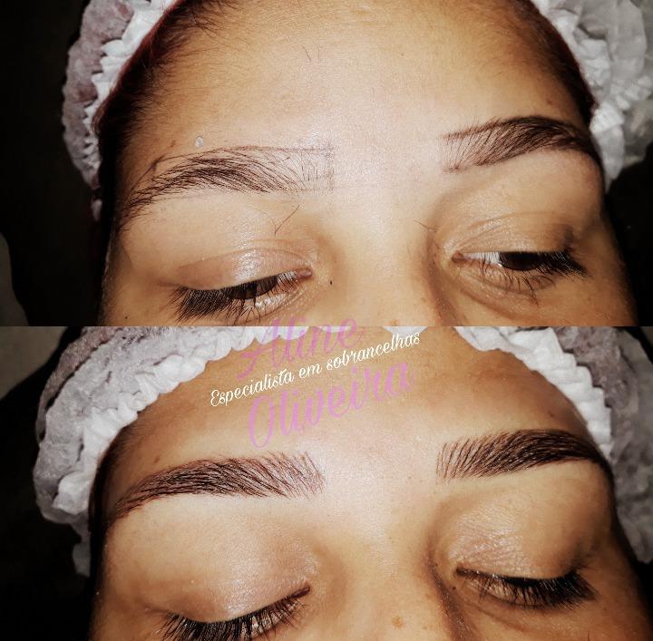 Micropigmentação fio a fio outros estudante (esteticista) designer de sobrancelhas micropigmentador(a)