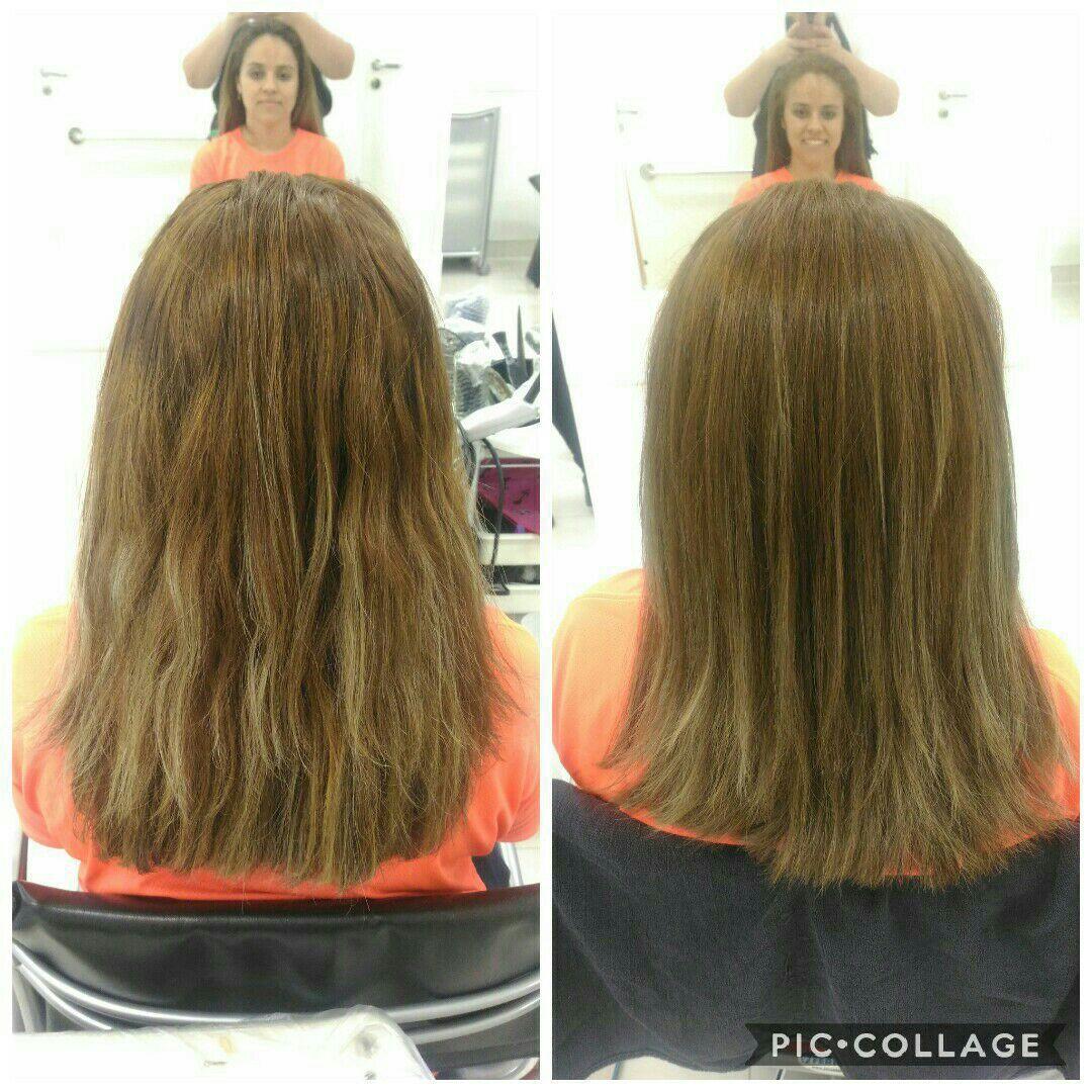 Coloração com inoa e hidratação cabelo maquiador(a) micropigmentador(a) designer de sobrancelhas cabeleireiro(a)