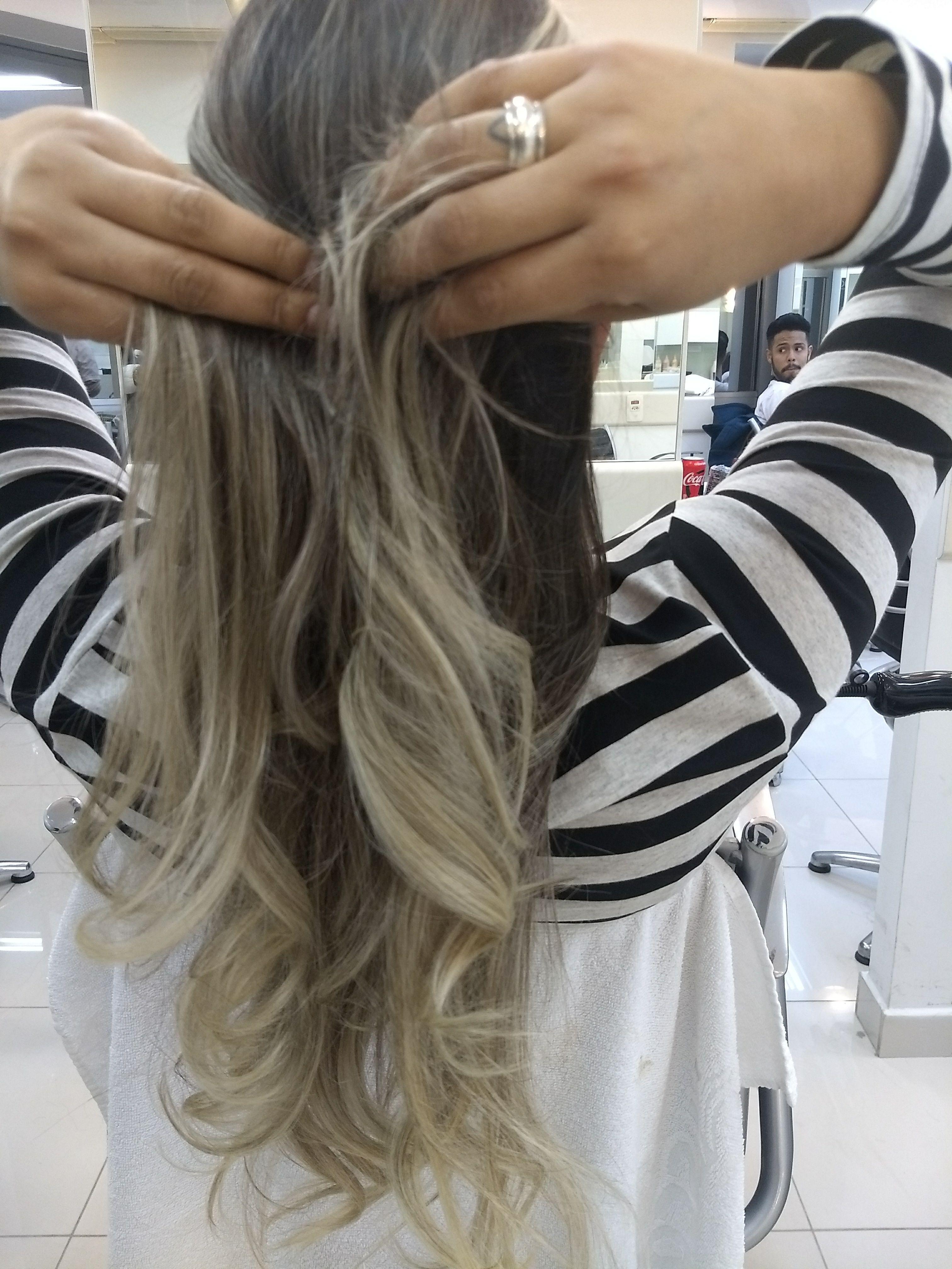 Cachos 😍😍 cabelo auxiliar cabeleireiro(a) escovista