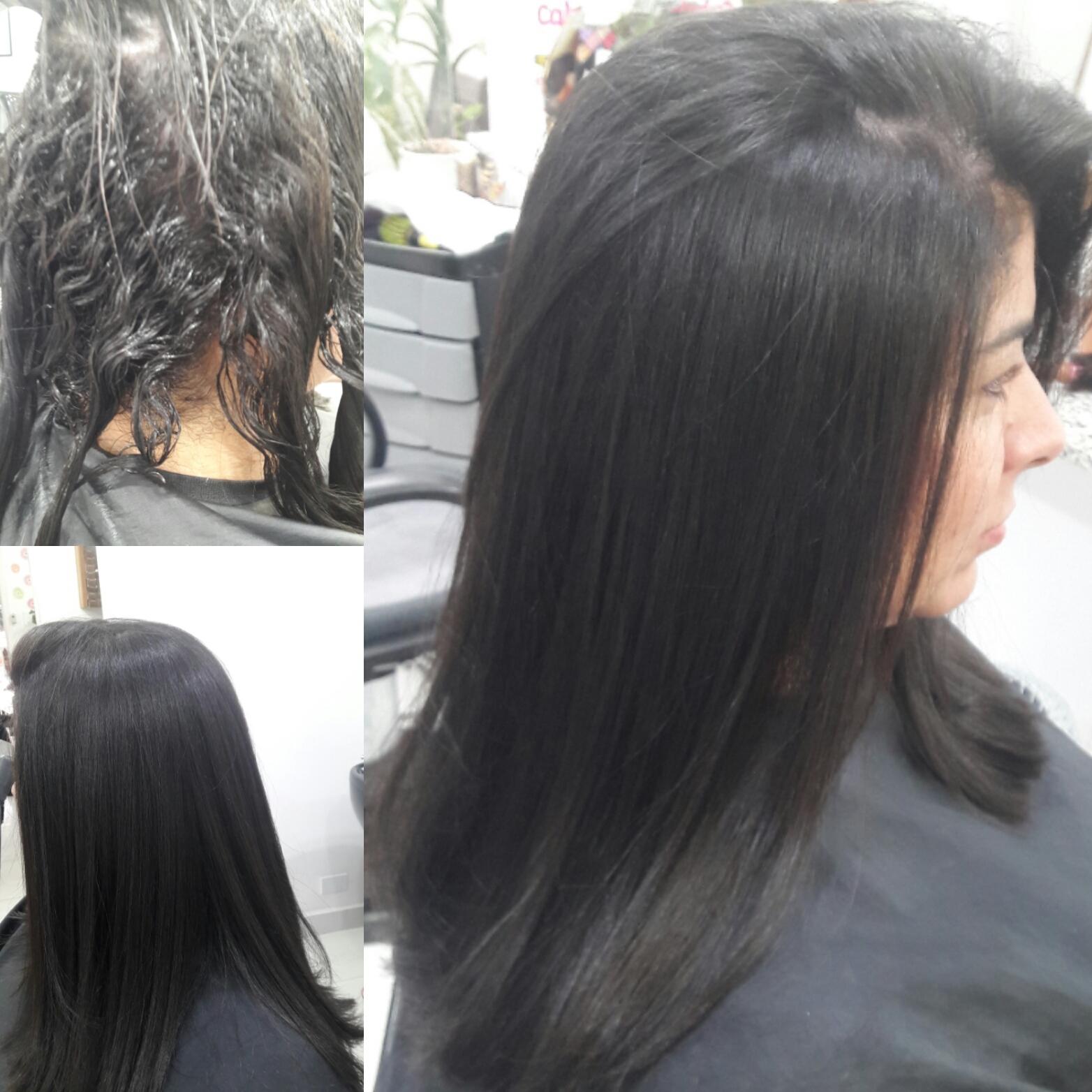 Alisamento com formol.  cabelo cabeleireiro(a)