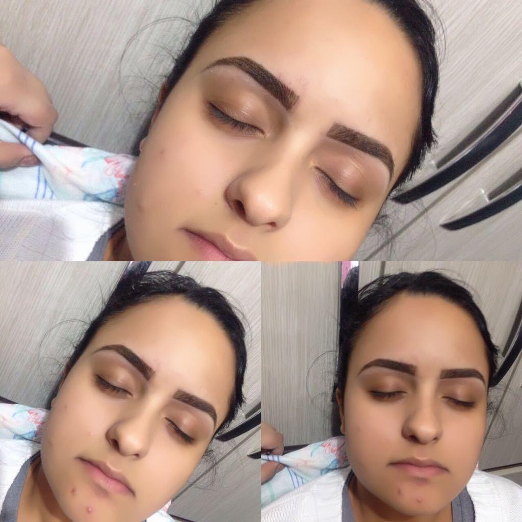 Designer com henna  outros designer de sobrancelhas maquiador(a) micropigmentador(a) depilador(a)