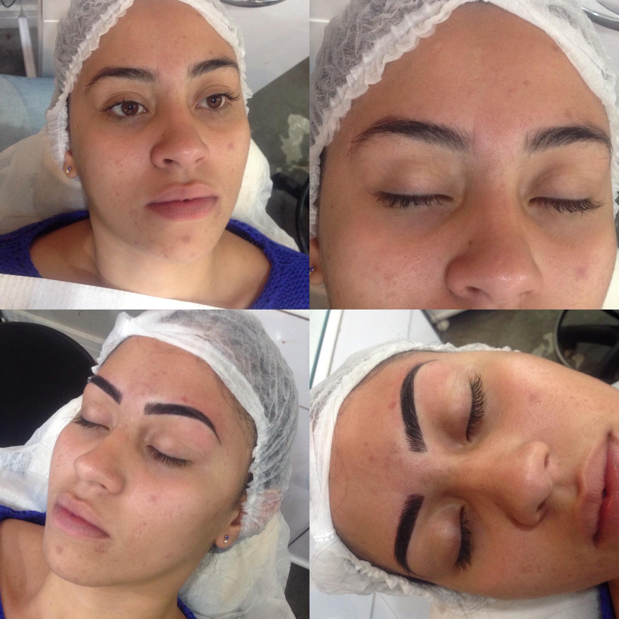 Micropigmentação realística  outros designer de sobrancelhas maquiador(a) micropigmentador(a) depilador(a)