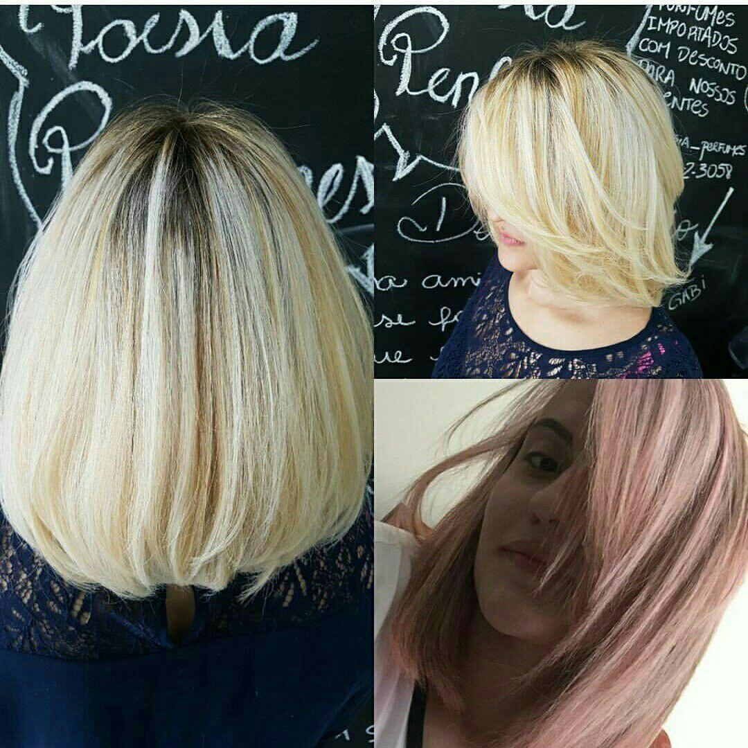 Mudança de cor cabelo auxiliar cabeleireiro(a)