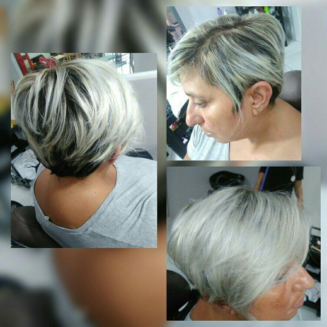 Corte e Reflexo cabelo auxiliar cabeleireiro(a)