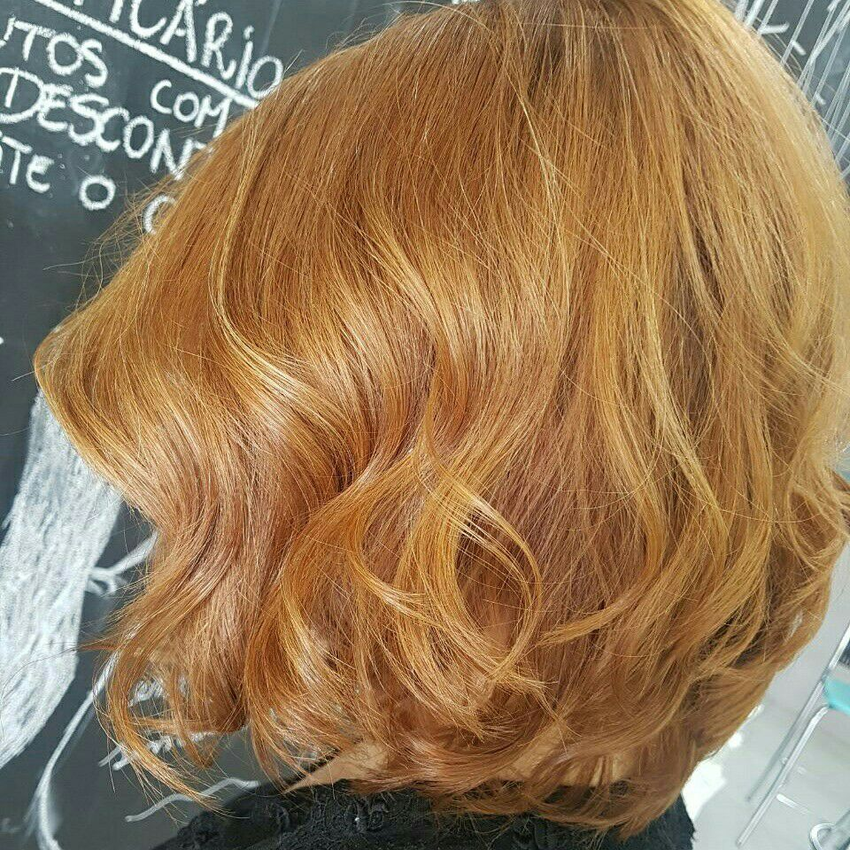 Escova e Coloração cabelo auxiliar cabeleireiro(a)