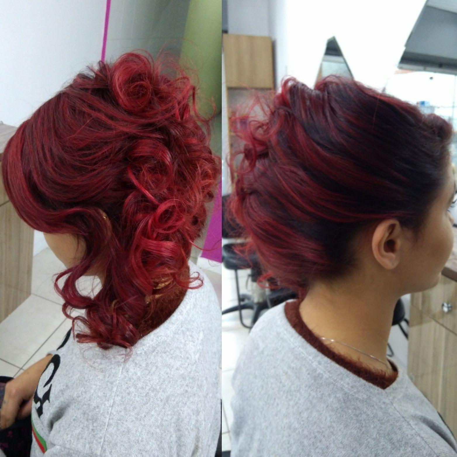 Penteado. Mechas esfumadas feitas por mim. cabelo cabeleireiro(a) maquiador(a) escovista designer de sobrancelhas depilador(a)