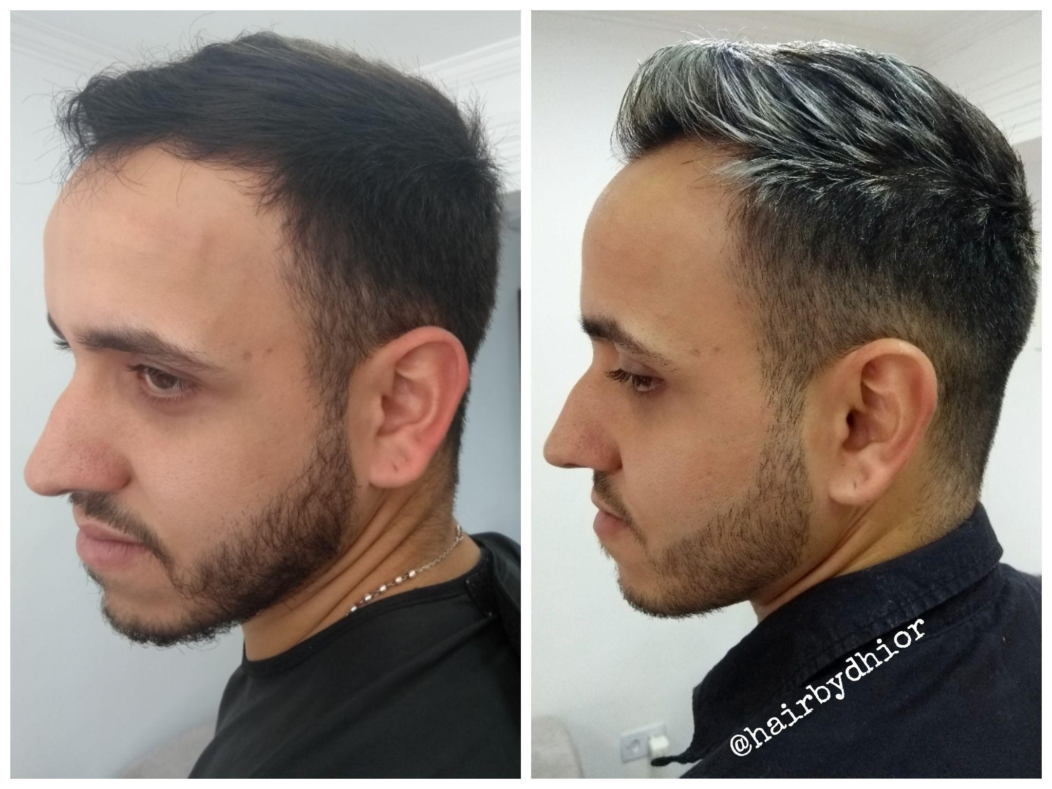 Luzes Masculina cabelo cabeleireiro(a)