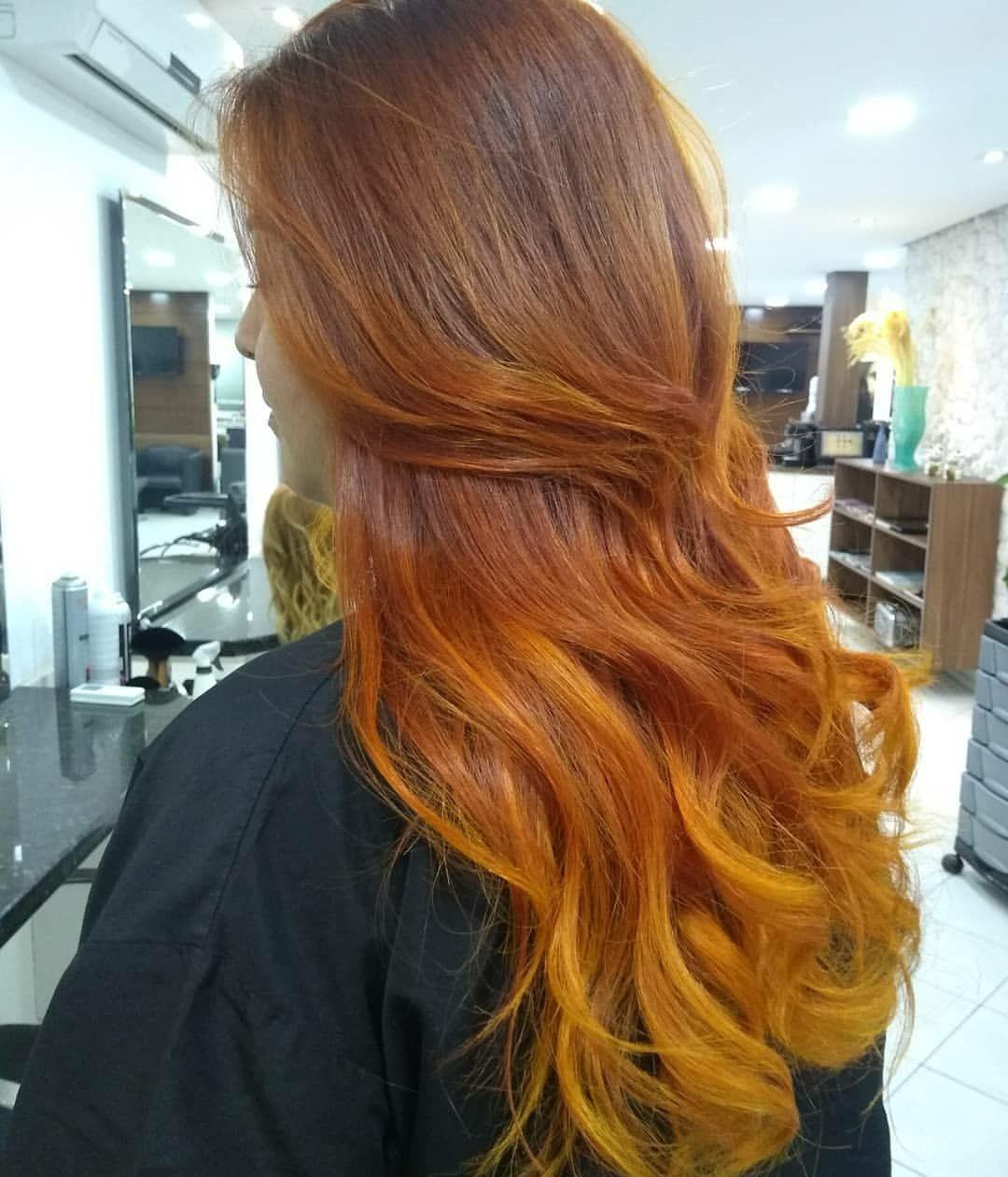 Coloração e californianas cobre.. cabelo cabeleireiro(a) auxiliar cabeleireiro(a)