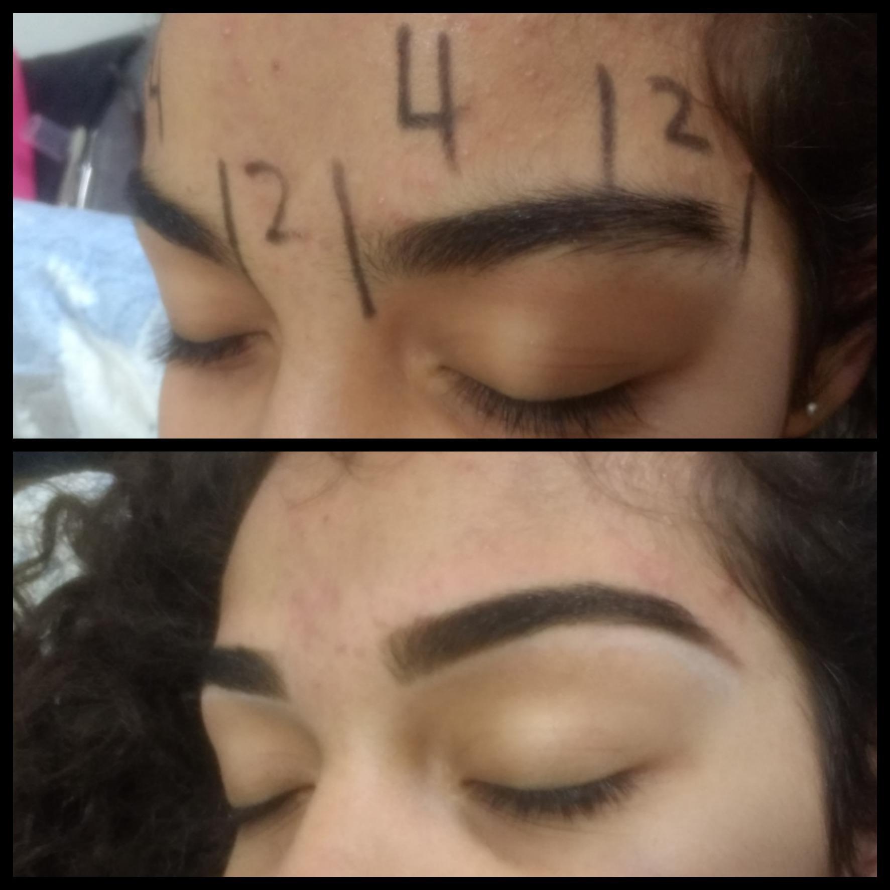 Designer de sobrancelhas estética maquiador(a) designer de sobrancelhas