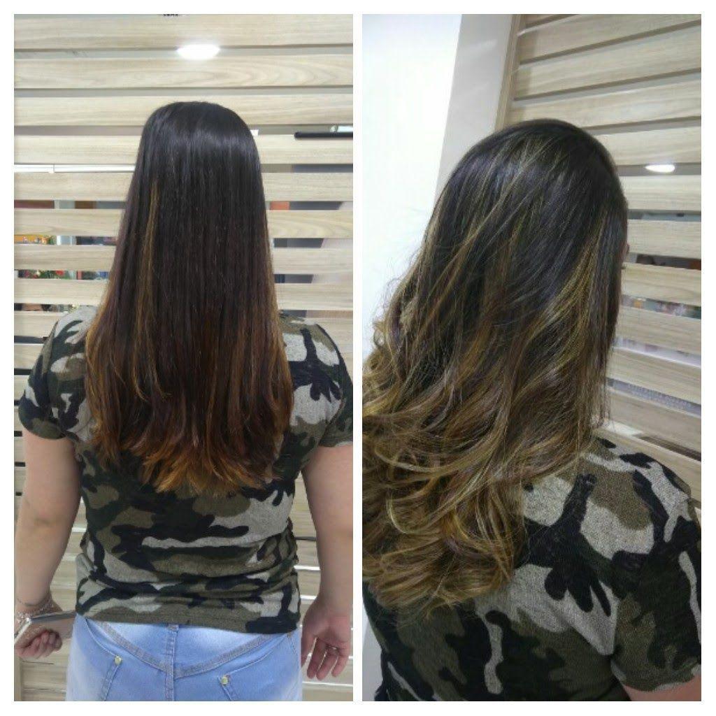 Ombré Hair. cabeleireiro(a) stylist / visagista
