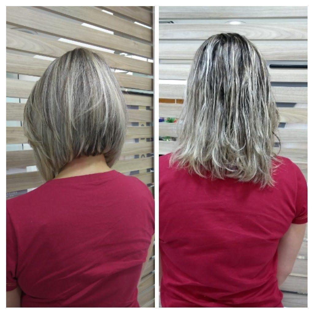 Corte e cor.  Usei duas técnicas: Transparência e custurada. cabeleireiro(a) stylist / visagista