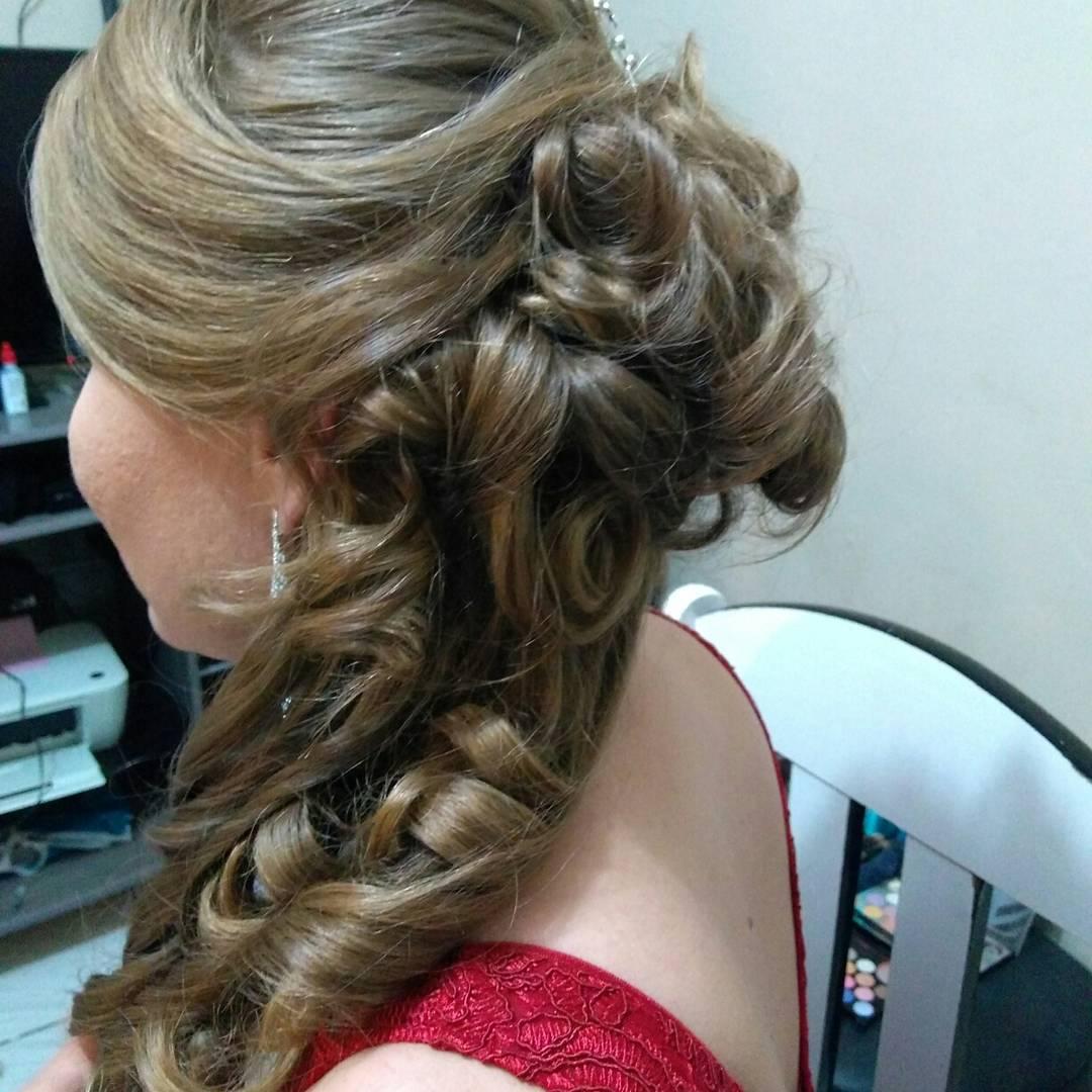 Penteado 😍 cabelo micropigmentador(a) designer de sobrancelhas