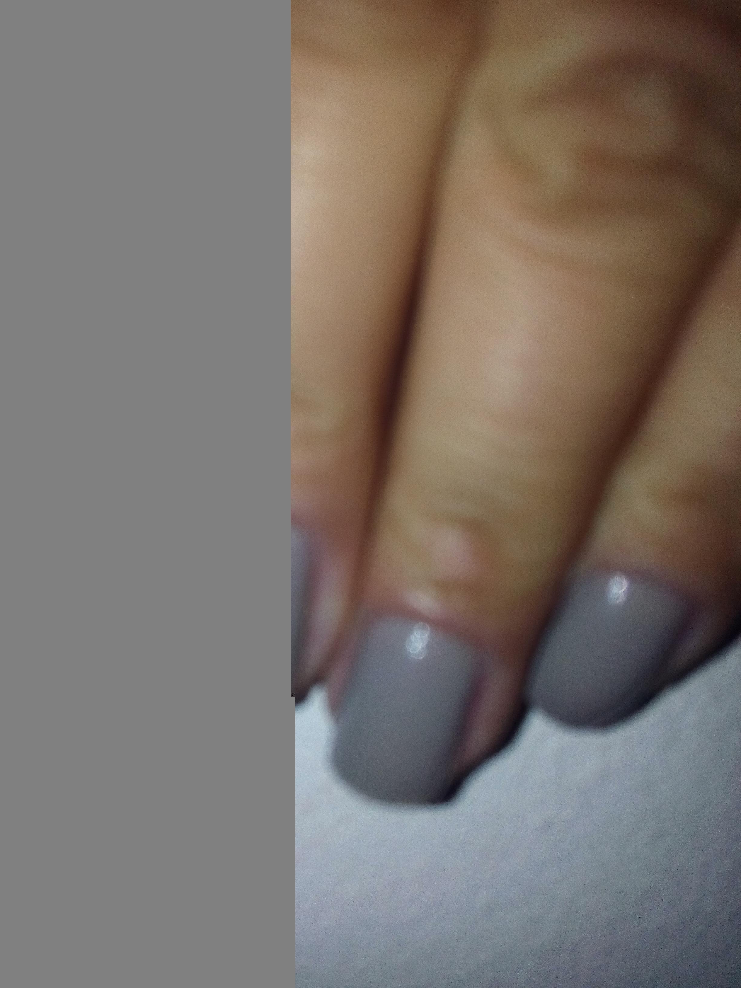 AHAA CINZA SEMPRE SE SOBRESSAINDO É MARA... unha manicure e pedicure