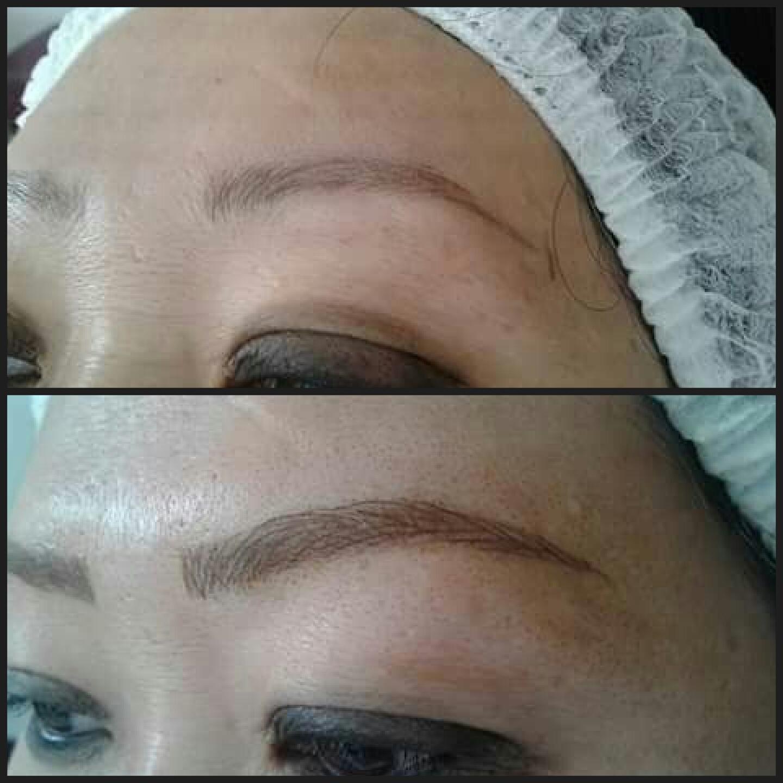 #Micropigmentação Tebori Fio a Fio 3D outros micropigmentador(a) cabeleireiro(a) maquiador(a)
