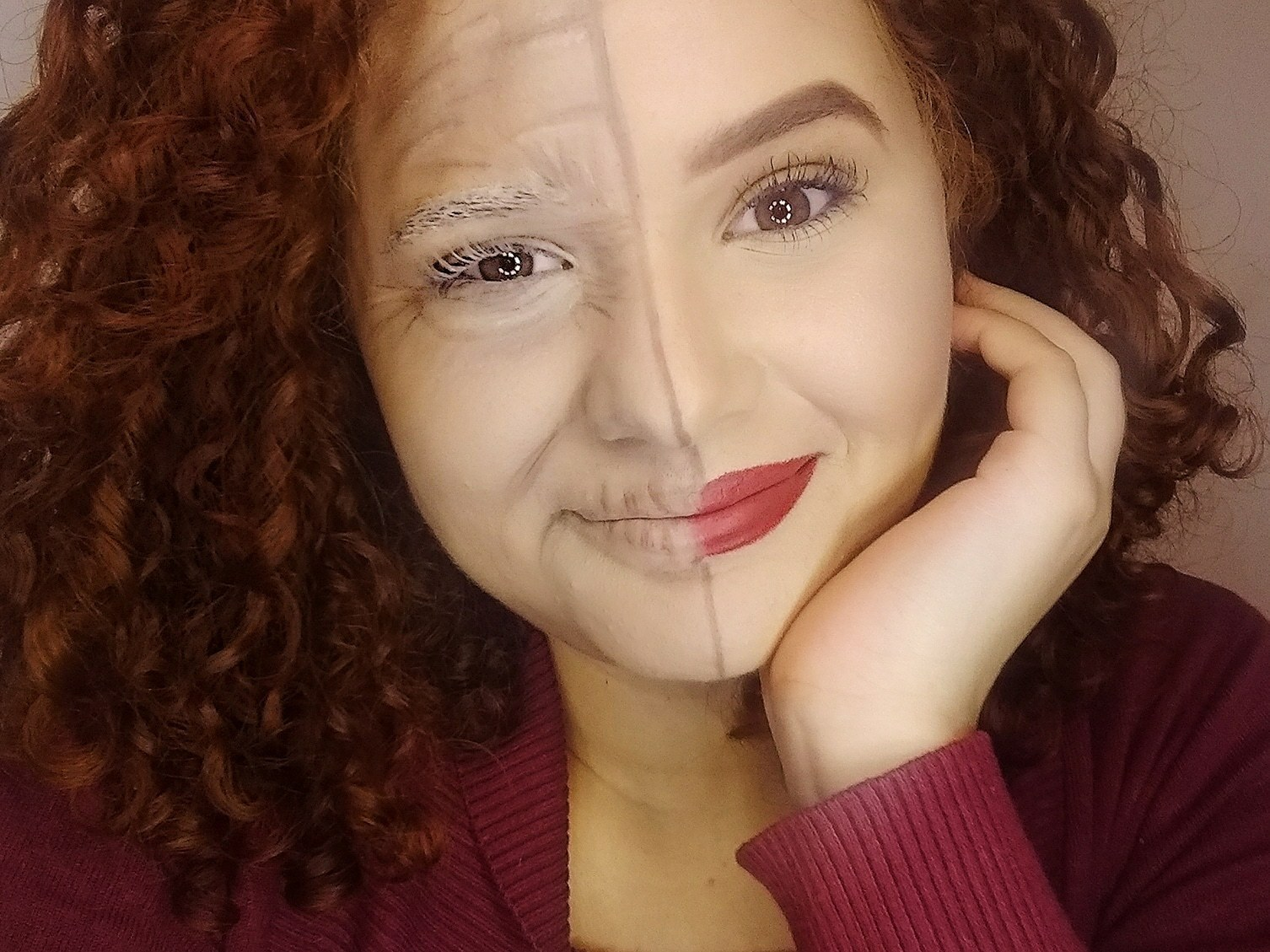 Maquiagem artística, técnicas de envelhecimento. maquiagem maquiador(a) designer de sobrancelhas