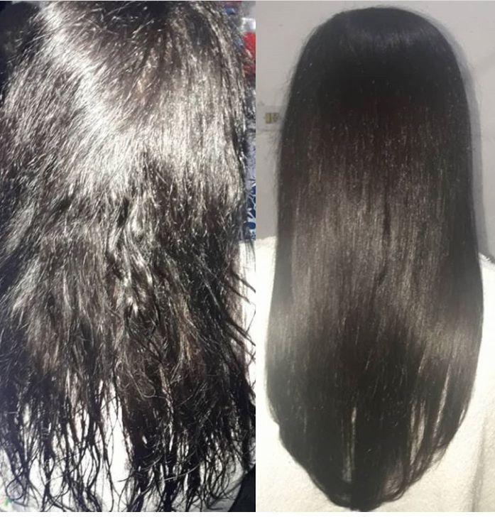 Alongamento metodo de fita. cabeleireiro(a) cabeleireiro(a)