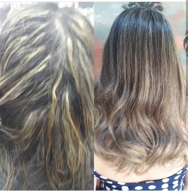 Cabelo matizado. cabeleireiro(a) cabeleireiro(a)