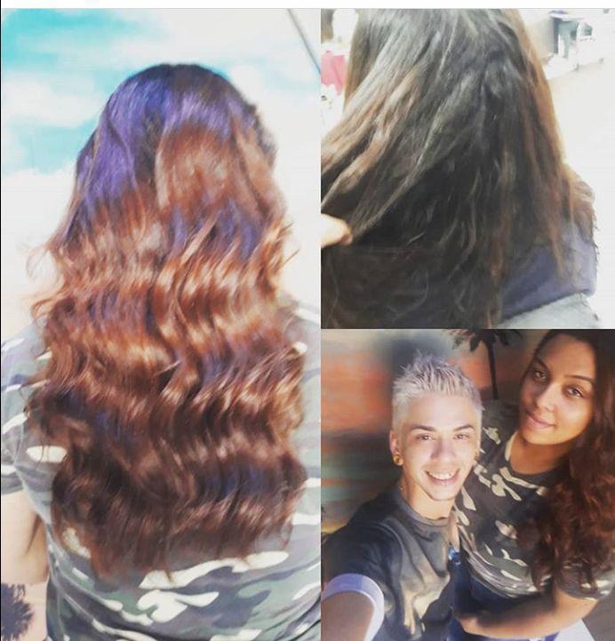 Leves  ondas cabeleireiro(a) cabeleireiro(a)