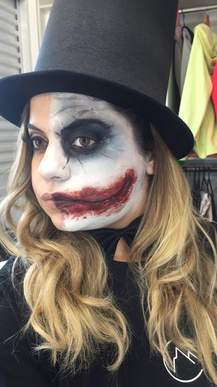 Maquiagem social/ maquiagem artísticas e efeitos Coringa  maquiagem maquiador(a) designer de sobrancelhas outros micropigmentador(a)