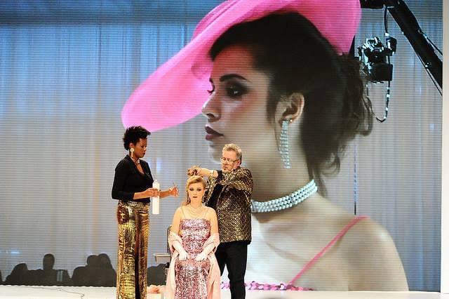 Fashion show- Hair Brasil 2015 Maquiagem do desfile do Rodrigo De Lastra  maquiador(a) designer de sobrancelhas outros micropigmentador(a)
