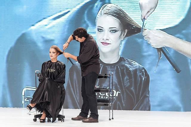 Fashion show- Hair Brasil 2015 Maquiagem do desfile do Rodrigo De Lastra  maquiagem maquiador(a) designer de sobrancelhas outros micropigmentador(a)