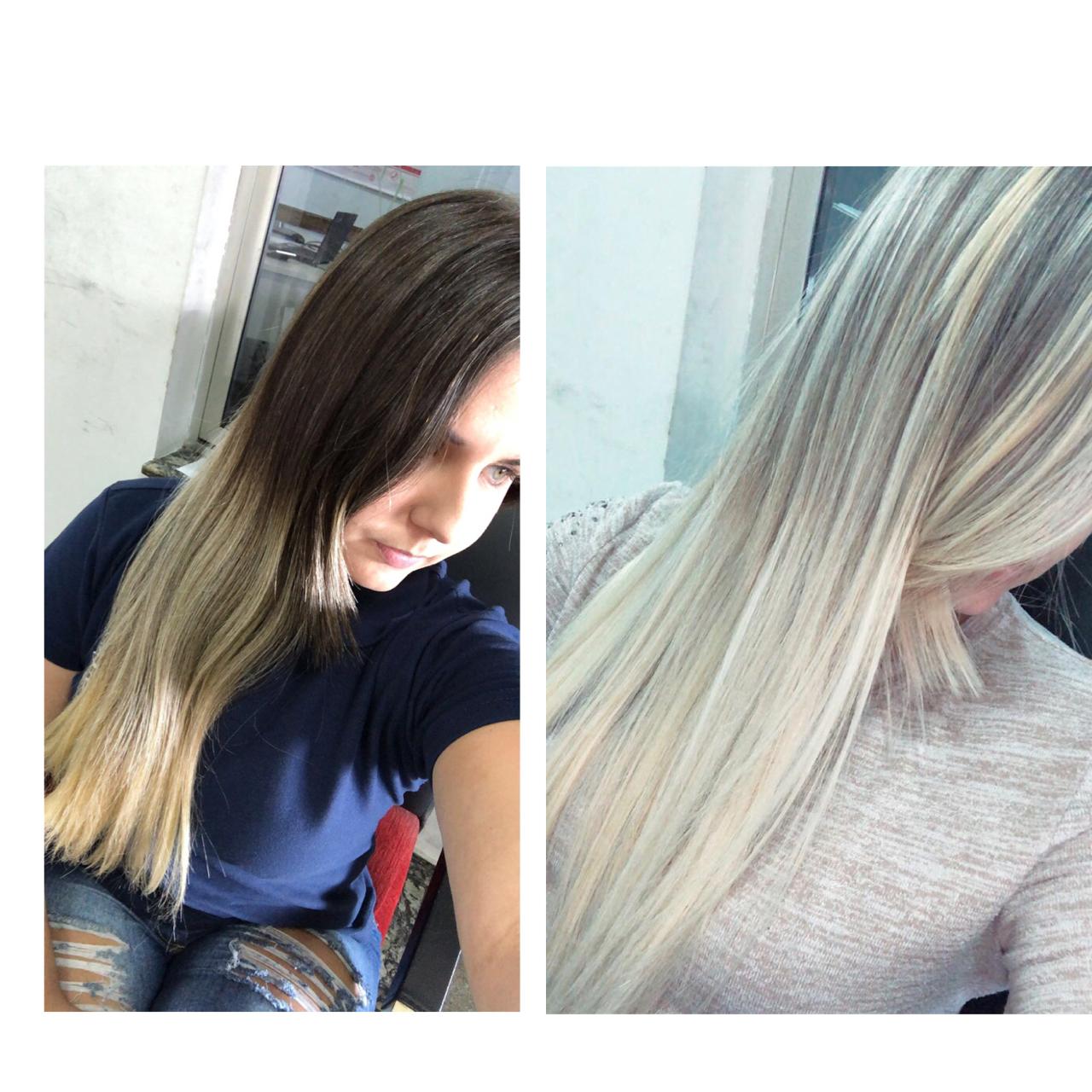 Loiro platinado 💁🏼♀️  #loiroplatinado #loirodossonhos #loiro #loiros  cabelo cabeleireiro(a) auxiliar cabeleireiro(a)