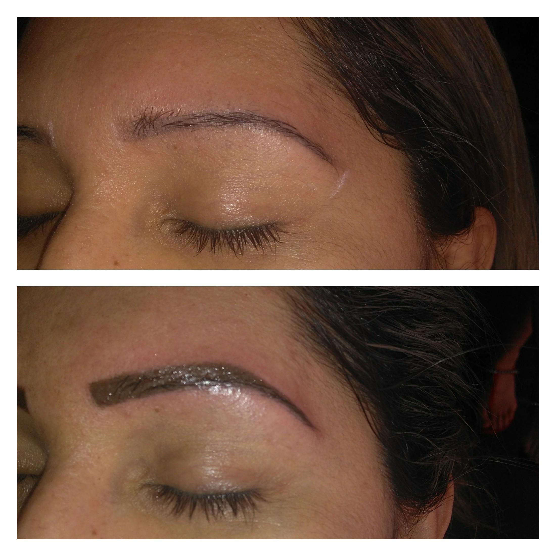 Micropigmentação esfumada outros depilador(a) designer de sobrancelhas micropigmentador(a)