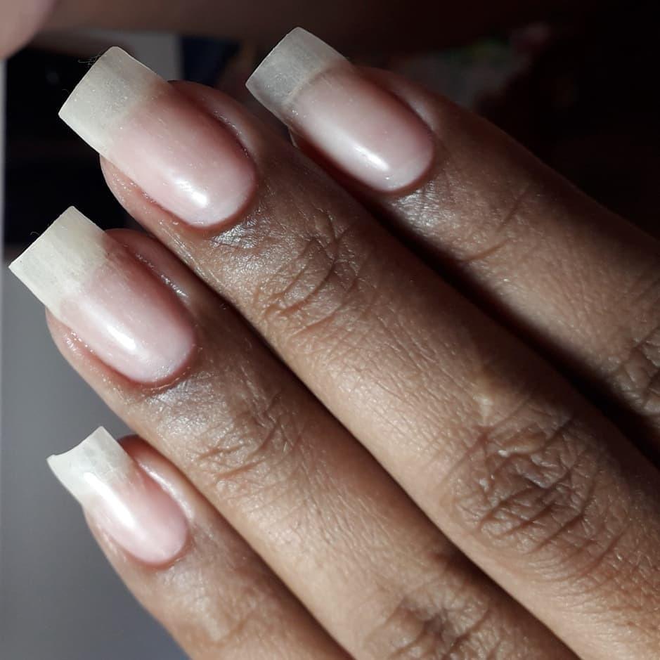 Unhas de fibra realista   Marca de produtos Mart'nails original   Fibra gel leito Camuflagem borda livre . .  instagood #photooftheday #unhas #manicure #podologia  #hashtagsbrasil #tbt #cute #me #follow #selfie #picoftheday #like4like #summer #friends #instadaily #girl #fun #smile #tagsforlikes #repost #art #instalike #food #igers #nature #family #style #likeforlike .#martnailsoriginal unha