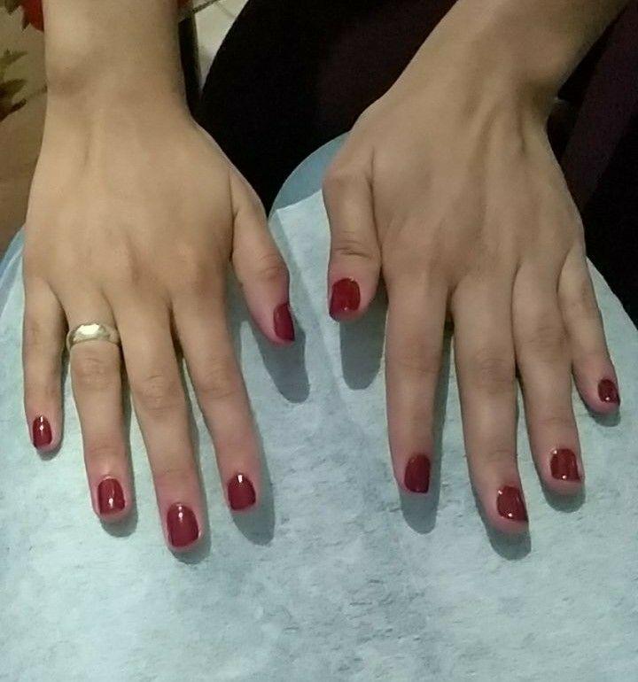Materiais descartáveis e esterilizados. unha manicure e pedicure