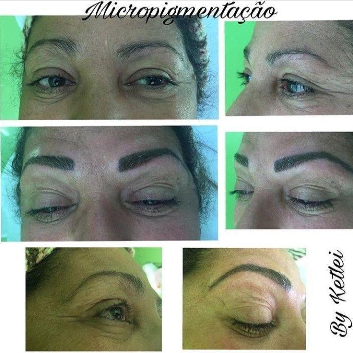 Micropigmentação com dermógrafo outros depilador(a) designer de sobrancelhas