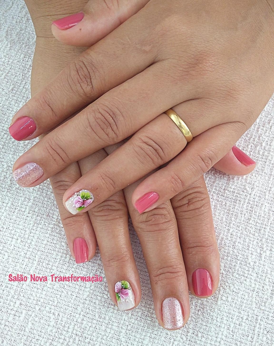 Unhas decoradas unha cabeleireiro(a) manicure e pedicure designer de sobrancelhas maquiador(a)