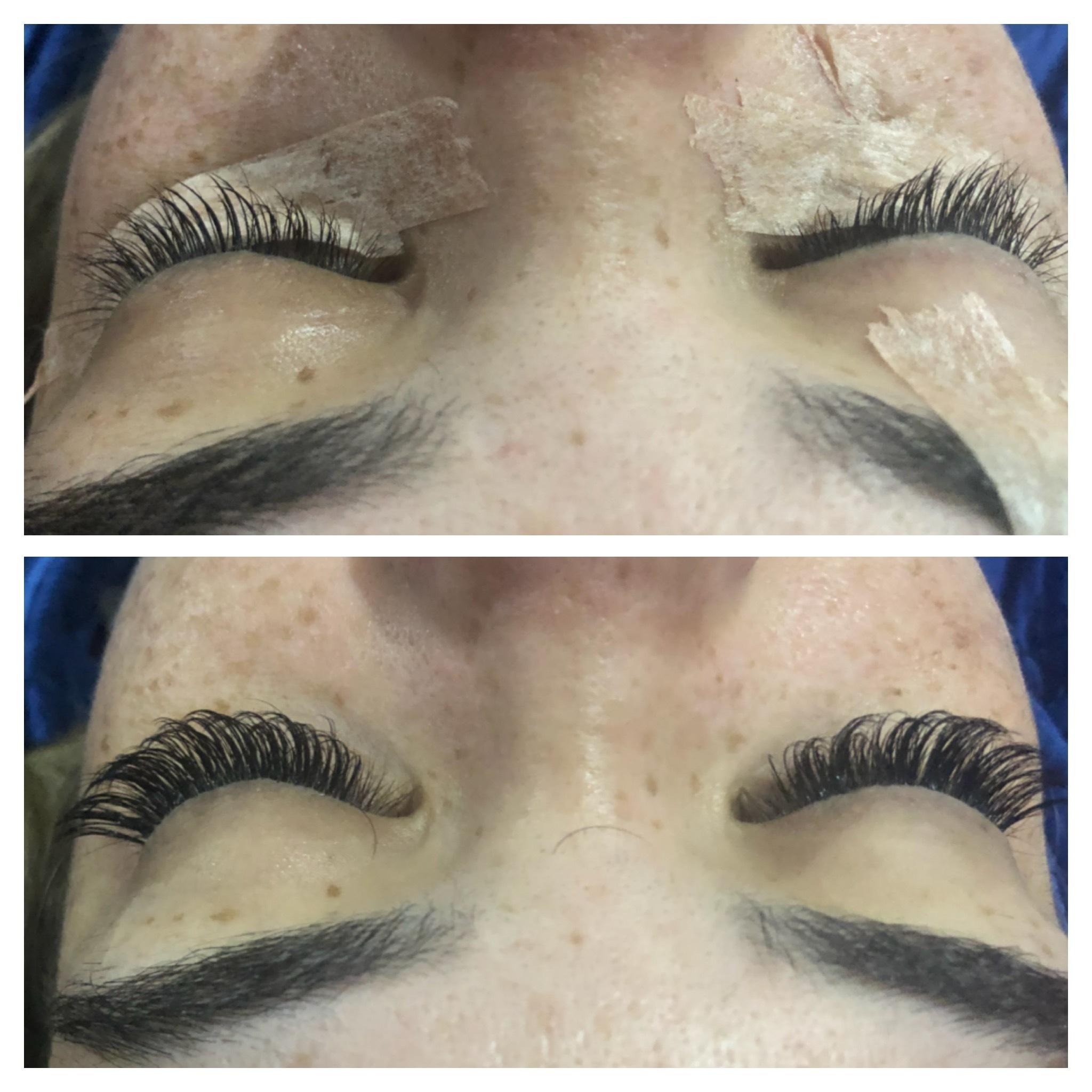 Alongamento de cilios cabelo cabeleireiro(a) maquiador(a)