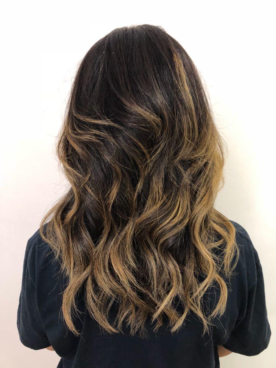 Corte com base reta e muitas camadas! cabelo cabeleireiro(a)