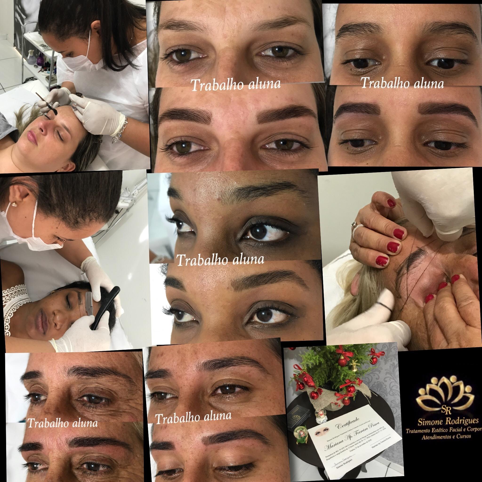 Curso Perfect Desing concluído... Aluna arrasou, fez um lindo trabalho...👏🏻🏆 estética designer de sobrancelhas esteticista depilador(a) micropigmentador(a)