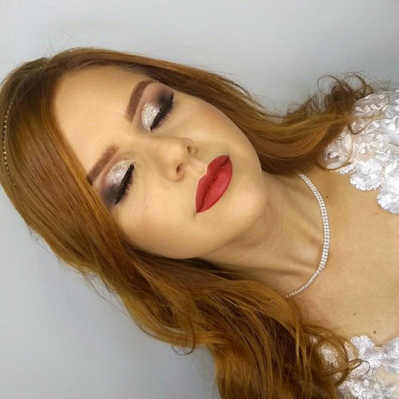 Make para noivado 👰  maquiagem maquiador(a) designer de sobrancelhas