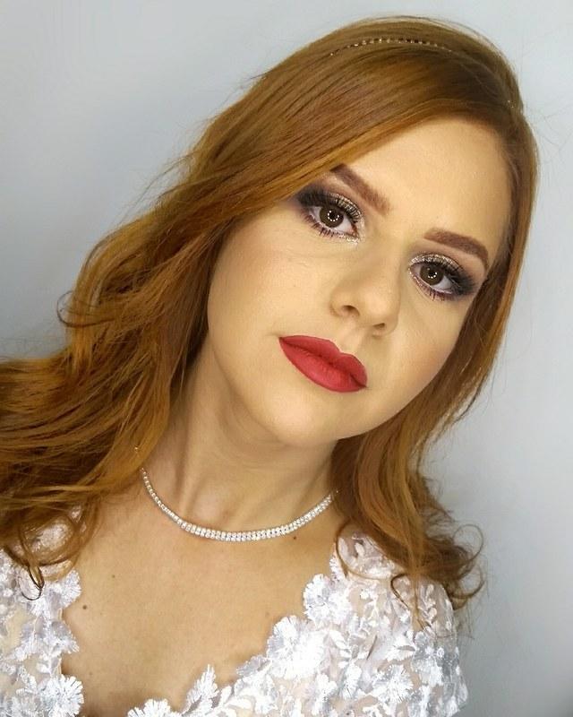 Make para noivado 👰😍 maquiagem maquiador(a) designer de sobrancelhas