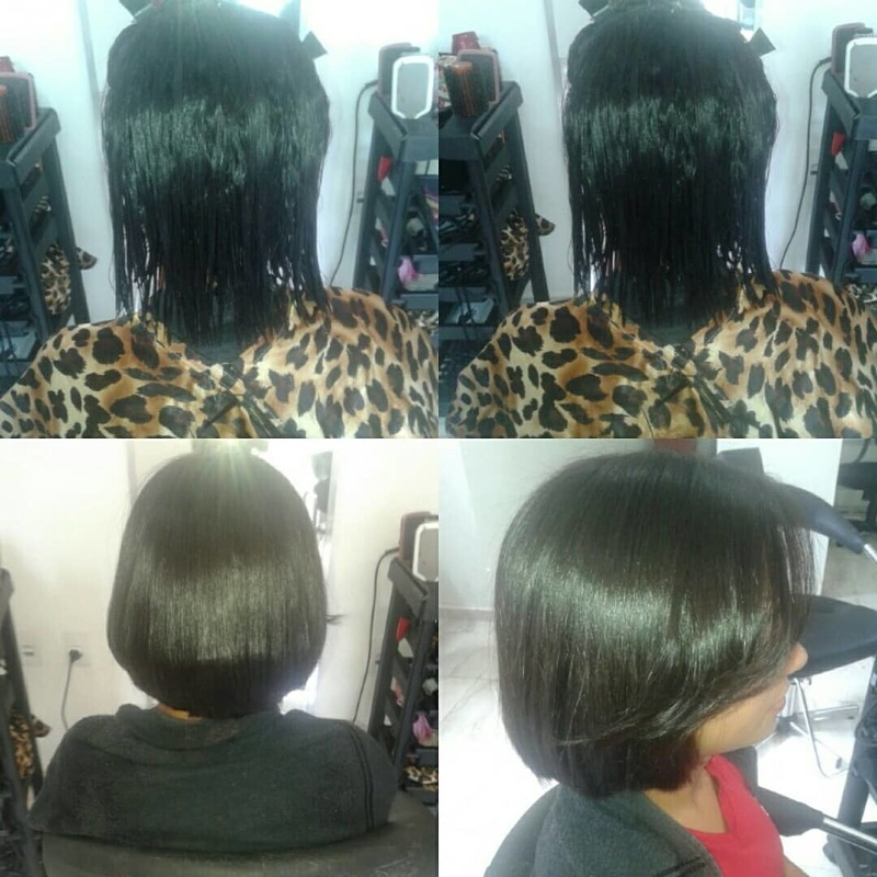 Corte e escova  cabelo cabeleireiro(a) auxiliar cabeleireiro(a)
