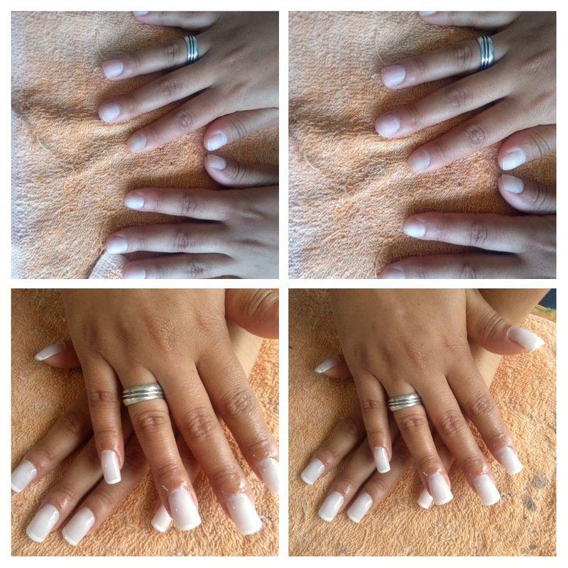 Unhas de gel unha manicure e pedicure