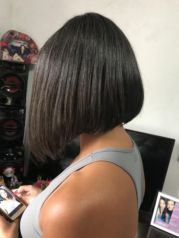 Corte e escova . cabelo auxiliar cabeleireiro(a) cabeleireiro(a)
