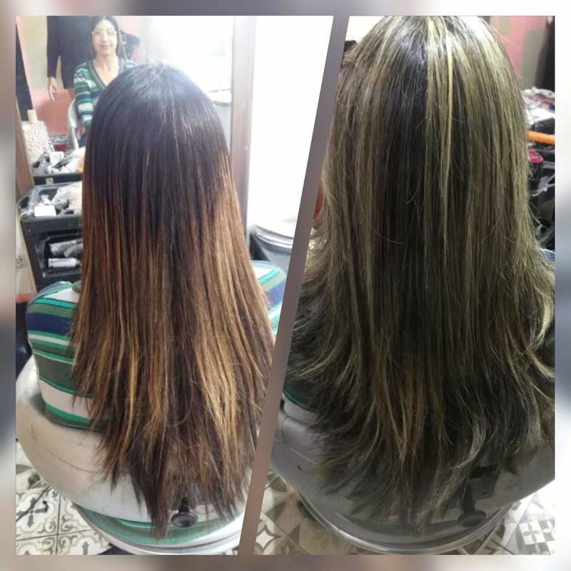 Minha amiga Danny e arrumando  um outro trabalho de outro profissional ....  sempre aprendendo e obrigada 🙏🏼  cabelo auxiliar cabeleireiro(a) cabeleireiro(a)