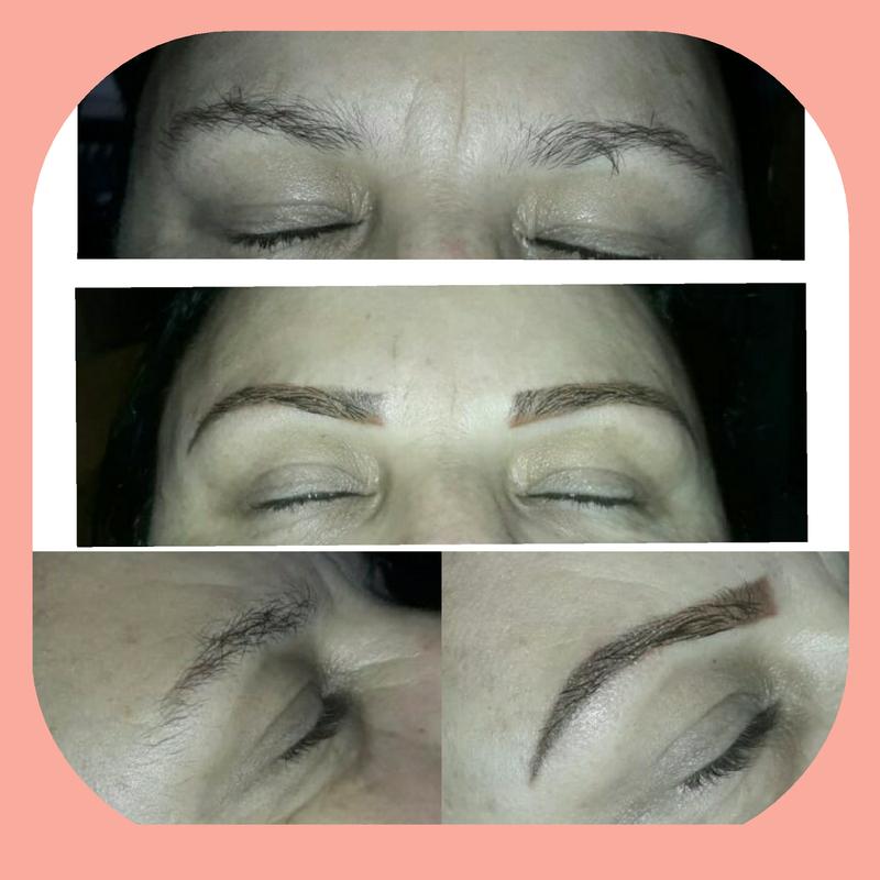 Micro esfumada  cabeleireiro(a) designer de sobrancelhas micropigmentador(a)