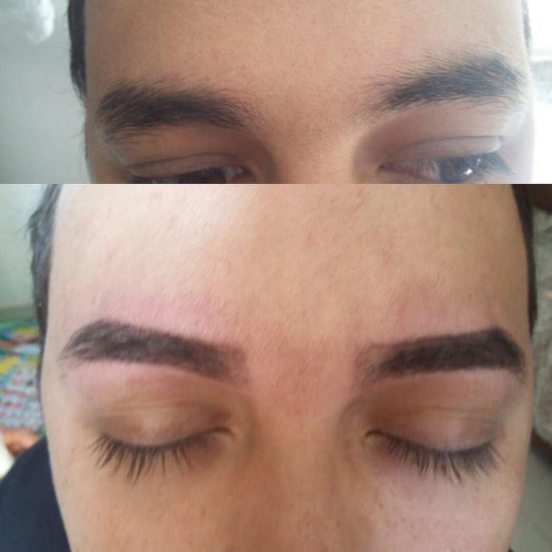 designer de sobrancelhas esteticista