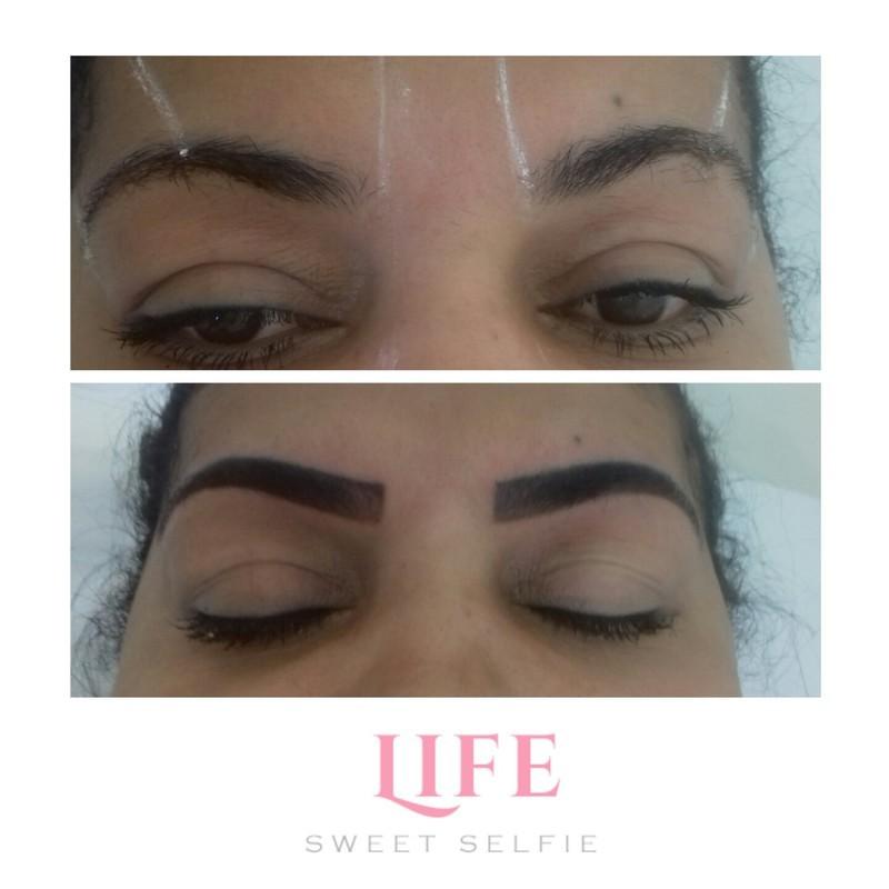 Micropgmentação esfumada  outros micropigmentador(a) designer de sobrancelhas dermopigmentador(a) depilador(a) assistente maquiador(a) consultor(a) vendedor(a) outros