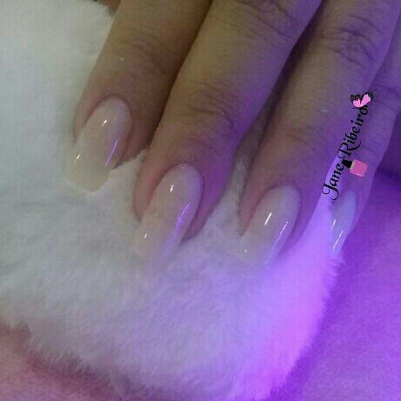 Alongamento fibra de vidro unha manicure e pedicure