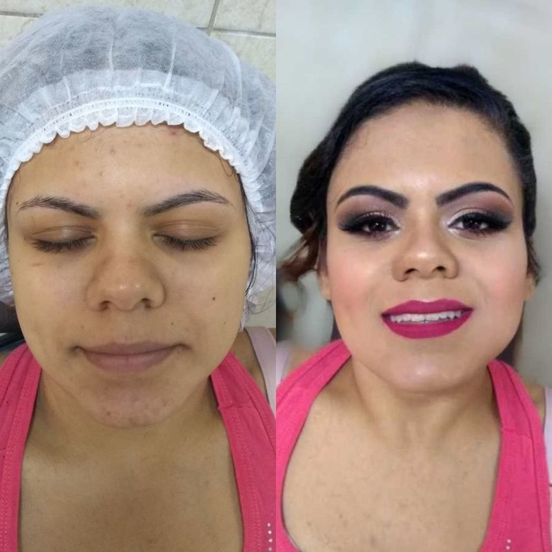 Maquiagem 👰 maquiagem cabeleireiro(a) maquiador(a) depilador(a) auxiliar cabeleireiro(a) designer de sobrancelhas escovista assistente maquiador(a)