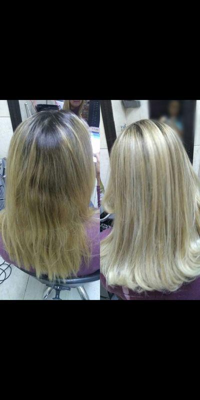Luzes perolada cabelo cabeleireiro(a) maquiador(a) depilador(a) auxiliar cabeleireiro(a) designer de sobrancelhas escovista assistente maquiador(a)