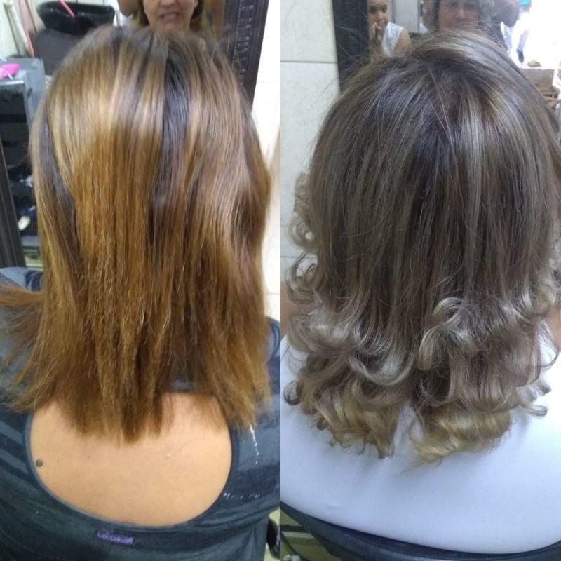 Luzes cabelo cabeleireiro(a) maquiador(a) depilador(a) auxiliar cabeleireiro(a) designer de sobrancelhas escovista assistente maquiador(a)